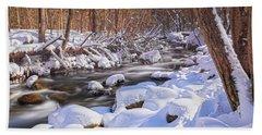 Winter Crisp Hand Towel by Angelo Marcialis