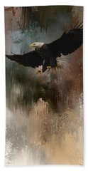 Winter Eagle 1 Hand Towel