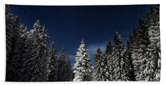 Winter Fairytale Hand Towel by Paul Itkin