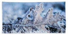 Winter Frost Bath Towel