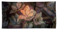 Hand Towel featuring the photograph Winter Glow by Allin Sorenson