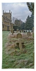 Winter Graveyard Hand Towel by Anne Kotan