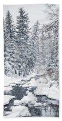 Winter Heaven Bath Towel
