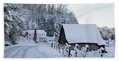 Winter In Virginia Hand Towel