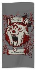 Winter Is Coming Hand Towel