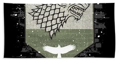 Winter Is Here Stark Banner Bath Towel