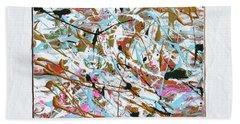 Winter Joy Hand Towel by Donna Blackhall