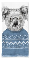 Winter Koala Hand Towel