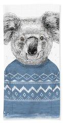 Winter Koala Bath Towel