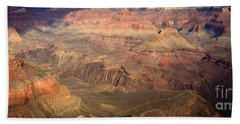Winter Light In Grand Canyon Bath Towel