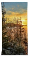 Winter Magic Bath Towel by Rose-Marie Karlsen