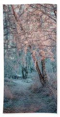 Winter Path #h1 Bath Towel