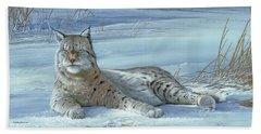 Winter Prince Bath Towel
