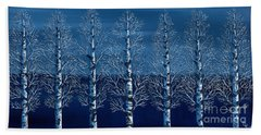 Winter Shadows Hand Towel