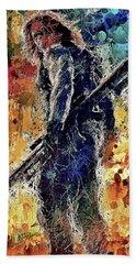 Winter Soldier Hand Towel