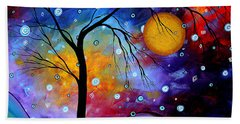 Winter Sparkle By Madart Hand Towel