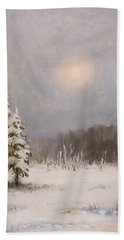Winter Stillness Bath Towel