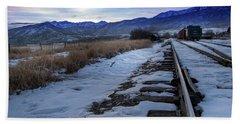 Winter Tracks Hand Towel