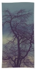 Hand Towel featuring the photograph Winter Tree by Shane Holsclaw