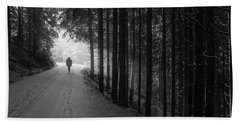 Winter Walk - Austria Hand Towel by Mountain Dreams