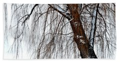 Winter Willow Hand Towel