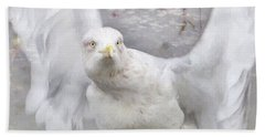 Winter Wings Bath Towel