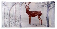 Winter Wonderland - Painting Hand Towel