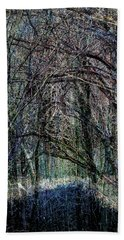 Winter Woods Hand Towel