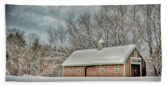 Winters Coming Hand Towel by Tricia Marchlik