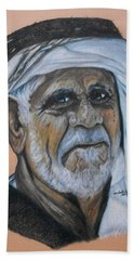 Wisdom Portrait Hand Towel