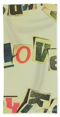 Wisest Word Of Them All Hand Towel