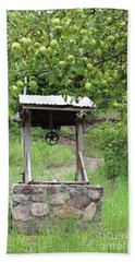 Bath Towel featuring the photograph Wished Well For Apples by Natalie Ortiz