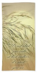 Wispy Sunset-3 Hand Towel by Nina Bradica