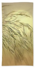 Wispy Sunset-4 Hand Towel by Nina Bradica