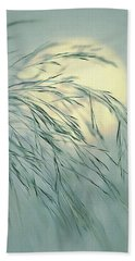 Bath Towel featuring the digital art Wispy Sunset-6 by Nina Bradica