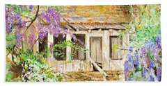 Wisteria House Hand Towel