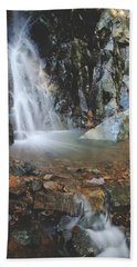 With Heart And Soul Hand Towel by Laurie Search