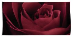 With This Rose Hand Towel