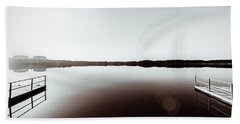 Within The Sound Of Silence Bath Towel by Wade Brooks