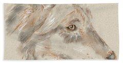 Wolf Hand Towel