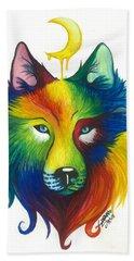 Wolf Spirit Bath Towel