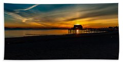 Wollaston Beach Sunrise 3 Bath Towel