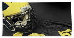 Wolverine Helmet With Jersey Bath Towel