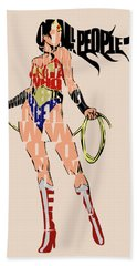 Wonder Woman Bath Towel