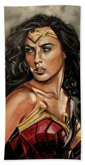 Wonder Woman Hand Towel