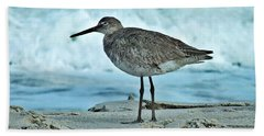 Wonderful Willet  Bath Towel
