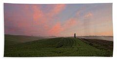 Wonderland I - Tuscany Hand Towel by Yuri Santin