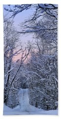Wonderland Road Hand Towel