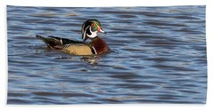 Wood Duck Hand Towel