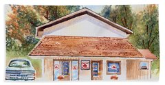 Woodcock Insurance In Watercolor  W406 Hand Towel